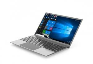 Quality 15.6'' 15inch laptop notebook mini pc computer I7-1065G7 16G RAM 256 SSD silver black grey color Cheap Slim for sale
