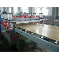 Buy Ecological WPC Extrusion Machine , Wood Plastic Composite Production Line at wholesale prices