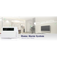 Quality Easy Handle Auto Dialer GSM LED Wireless House Burglar Alarm System for sale