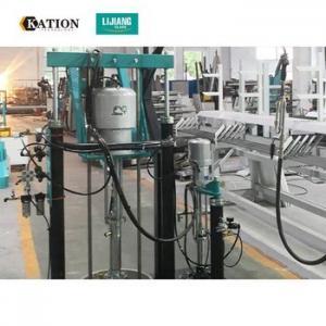 China Horizontal Sealant Sealing 4L/min Insulating Glass Machine on sale