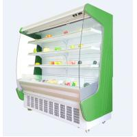 China Commercial supermarket multi deck refrigeration refrigerated wall cabinet multideck open chiller for fruits and vegetab on sale