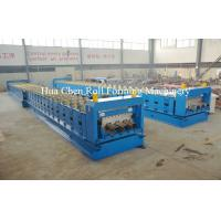 Quality Metal Floor Deck Cold Roll Forming Machine for Thickness 1.5mm 22KW for sale