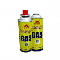 China Round Shape Portable 220g and butane gas canister on sale