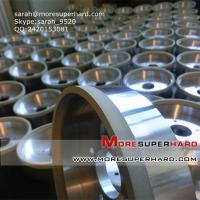 China 6A2 vitrified diamond/cbn cup  grinding wheel for ceramic  sarah@moresuperhard.com on sale