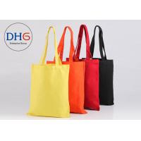 Quality Lightweight Cotton Canvas Tote Bags Personalized Fade Resistant Easy Cleaning for sale