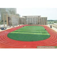 Quality Spray Coating Permeable Running Track , Hebei School Sports Rubber Flooring for sale