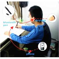 Buy cheap spy blutooth pen  exam bluetooth pen  cheap bluetooth pen  metal bluetooth pen hidden micro earpiece For Communication from wholesalers