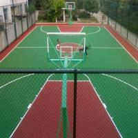 Volleyball Courts EPDM Rubber Flooring , Environment Friendly Soft Rubber Flooring
