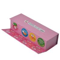 Quality Colorful Handmade Printed Gift Boxes Perfume Packaging With Divider for sale