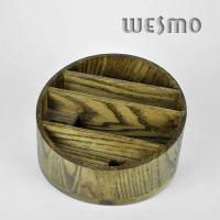Quality Personalized Eco - Friendly Bamboo Jewelry Holder with Four Terraced Parts for sale