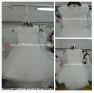 Capes Lace flower girl dress#AS1560-flower girl