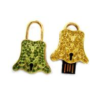 Buy cheap Portable Fashion Jewel Bell Branded USB Flash Drives SUP47 With Large Capacity, OEM product