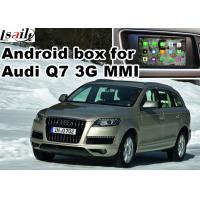 Quality Android car navigation box for Audi Q7 multimedia video interface for sale