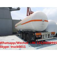 Quality best seller 50m3 bulk lpg gas road transported tanker in 2019s, new manufactured cheaper 20tons propane gas tanker for sale
