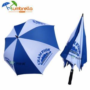 China 27 30 custom print logo big strong quality windproof golf umbrella on sale