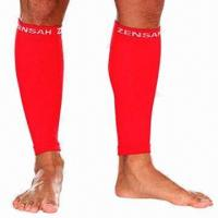 Quality Graduated Compression Calf Sleeves for Sport and Althletic Racing Game for sale