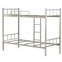 Quality Kids Double Deck Bunk Bed Bedroom Sets , Custom metal full size loft bed for sale