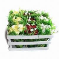 Quality Artificial Flower, Various Colors are Available, Made of PE for sale