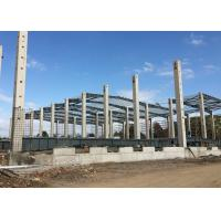 China Logistic Center Steel Structure Warehouse With 0.5mm Steel Color Sheet Wall on sale