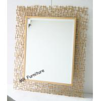 Quality Rectangular Metal Mirror Wall Decor 70 * 95cm Size Quickly Delivery for sale