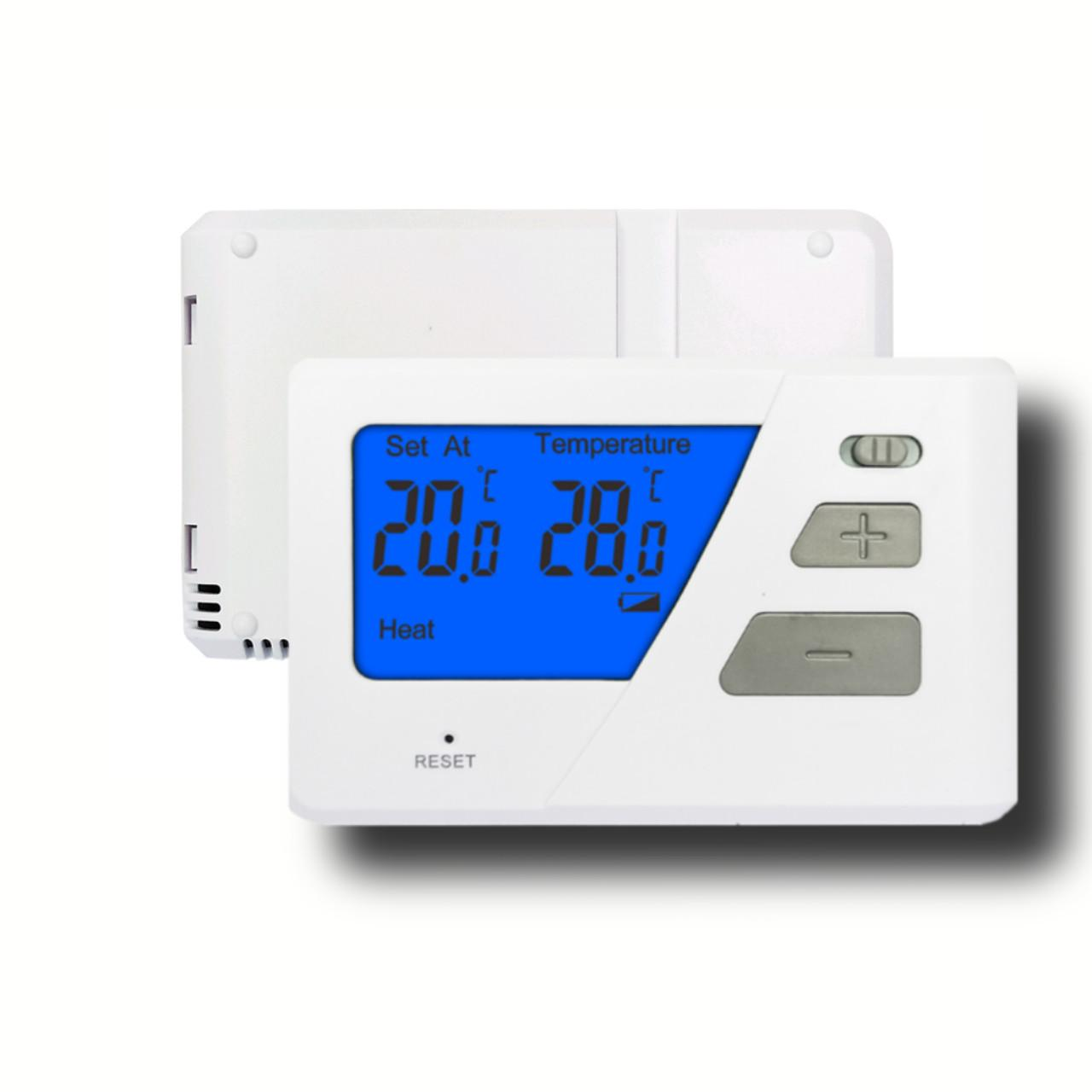 Quality Simple Backlit Display House  Heater Thermostat  For Electric Heating And Cooling for sale