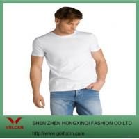 Quality 100% Organic Cotton Blank White T Shirt for sale