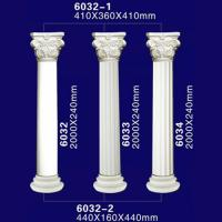 Quality Beautiful PU Material Decortive Roman Pillars for Hall for sale