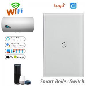 Quality Wireless WiFi Smart Boiler Switch Water Heater Switch Tuya APP Remote Control Amazon Alexa Google Home Voice Control for sale