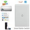 Buy cheap Wireless WiFi Smart Boiler Switch Water Heater Switch Tuya APP Remote Control from wholesalers