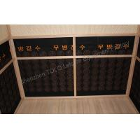 Quality Outdoor Far Infrared Sauna Cabin Room , Wood 2 Person Infrared Sauna for sale