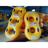 Cheap PVC Double Baby Swim Seat , Adults Swimming Pool Toys Play On Water wholesale