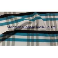 Quality Polyester Poplin Elastic Stretch Fabric with all over Paper Print for sale