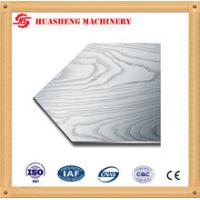Buy cheap 304 410 Stainless Steel Press Plates With Cloth Texture For Melamine Furniture from wholesalers