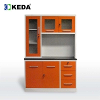Quality 190cm Height Steel Kitchen Cabinet for sale