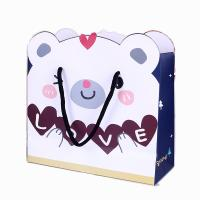 Quality OEM cheap storage toy paper shopping bag custom printing China factory for sale