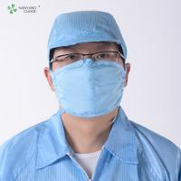 Quality Anti Static ESD Cleanroom strap Face Mask with adjustable stoppers folding safety mouth nose for sale