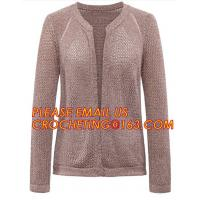 Quality Hot Sale Professional Sweater Cardigan Women, V-Neck Two-Pocket Cashmere Cardigan Sweater for women for sale