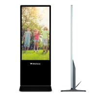 Quality 55 Inch 4k Media Player Advertising Digital Signage Loop Playback for sale