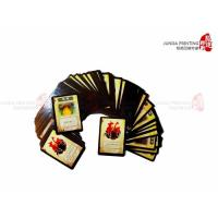 Quality CMYK Color Print Poker Cards / Paper Game Cards for sale