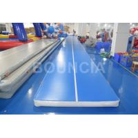 Quality Tumble Track Inflatable Air Mat / Gymnastics Air Track For Physical Training for sale