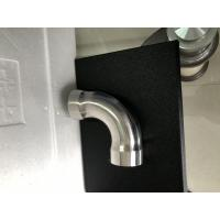 Quality Durable 90 Degree Grooved Elbow Pipe Fitting Cusomizedsize With Round Head for sale