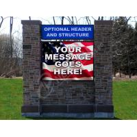 Quality IP65 P12 Outdoor LED Signs , DIP Advertising Front Service LED Display for sale