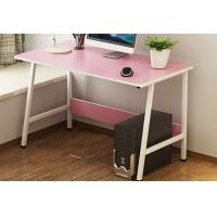 Quality Pink Color Economical Bedroom Desktop Pc Desk Table Oem Service Welcome for sale