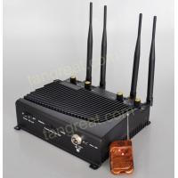 Quality tín hiệu gây nhiễu Indoor GSM 3G 4G Cell Phone Signal Jammer With Remote Control TG - 4CA for sale