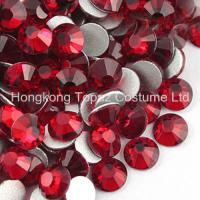 China Flat Back Rhinestones for Jewelry Making Round stone 5mm siam color on sale
