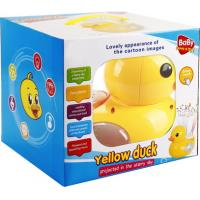 Quality Lovely Yellow Duck Projector ,Interesting toys for Baby for sale