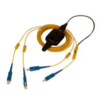 Quality Multi Mode OM2 Fiber Optic Patch Cable FC To FC Duplex Tracer Light Durable for sale