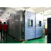 Buy cheap Photovoltaic Performance Temperature Walk-in Chamber , Environmental test Chamber product