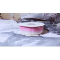Quality Colourful Silk Organza Ribbon Color Gradient Design For Headwears / Hanging Ornaments for sale