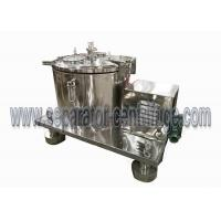 Top Discharge Chemical Manual Filtration Centrifuge Basket For Separating Suspension